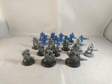 Warhammer 40K matar equipo genestealer culto neófito híbridos X 19 algunos convertido