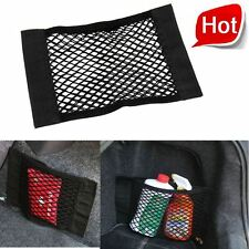 2 pcs Car Boot Trunk Cargo Net Velcro Sticker Luggage Mesh Orgnizer Storage Bag