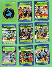 1990 CRONULLA SHARKS  STIMOROL RUGBY LEAGUE CARDS
