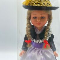 Tanzpuppe Vintage Dancing Doll Zwerg PigTails Made in West Germany