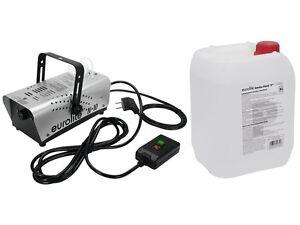 EUROLITE N-10 Nebelmaschine + 5 Liter Nebelfluid
