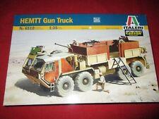 ITALERI® 6510 1:35 HEMTT Gun Truck NEU OVP