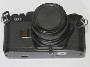 Spiegelreflexkamera REVUEFLEX SD 1 mit Ledertasche Objektiv Bedienungsanleitung