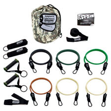 Bodylastics 14 Pc Exercise Warrior Set with Weight Resistance Bands (Open Box)