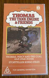 Vintage Thomas The Tank Engine & Friends Video VHS 1991 Storyteller Ringo Starr