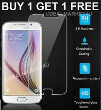 For Samsung Galaxy S6 SM-G920 Real Tempered Glass Film Screen Protector Clear