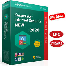 KASPERSKY INTERNET SECURITY 2020 1 PC DEVICE 1 YEAR 🔑 GLOBAL KEY BIG SALE