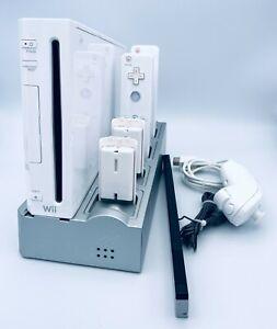Nintendo Wii Konsole Weiß Spiele Controller Paket