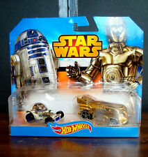 RARE STAR WARS HOT WHEELS R2-D2 & C-3PO VOLKSWAGON VW VAN CHASE 2-PACK MOSC