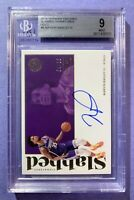 2018-19 PANINI ENCASED MARVIN BAGLEY 04/10 ROOKIE AUTO GOLD BGS 9 MINT  * RARE *