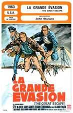 FICHE CINEMA : LA GRANDE EVASION - McQueen,Bronson,Sturges 1963 The Great Escape