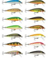 "Rapala Countdown Cd7 Balsa Wood Crankbait Bass Fishing Lure 2 3/4"" Free Shipping"