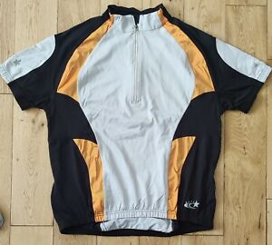 Athletic Deot. Short Sleeve Cycling Jersey Size Large.