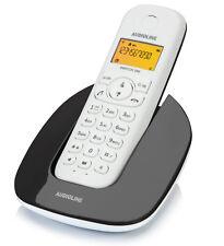 Audioline Switch 200 Schnurlos Telefon LCD Display schwarz / weiss -