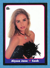 LE BELLISSIME -Masters Cards 1993 -n. 24 - ALYSSA JANE COOK - ATTRICE -New