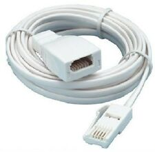 BT TELEPHONE EXTENSION LEAD CABLE (LENGTH 5M)