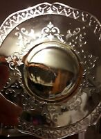 "Vintage ""Patrician"" Federal Glass Co. Depression glass Saucer"