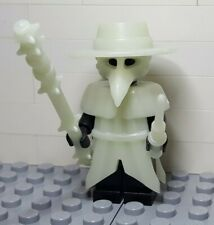 Lego Custom Plague Doctor Minifigure Glow in the Dark Accessory Pack