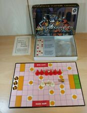 Vintage Waddingtons White Knights Mini Travel Board Game Complete Pieces 1966