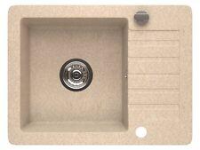granito Lavabo Fregadero Cocina + GIRO excéntrico 44x58cm L0