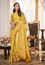 PARTY WEAR SOFT ORGANZA SAREE