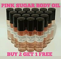 Pink Sugar Roll On Perfume Body Oil  10ml Buy 2 Get 1 Free Rom Essentials