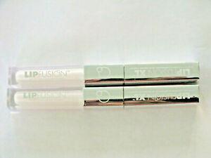 2 FUSION BEAUTY LIP FUSION XL 2X MICRO COLLAGEN LIP PLUMP CLEAR - FS - DUO CLEAR