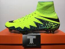 Nike HYPERVENOM PHANTOM II SG-PRO sockboots ~ 747489 703 ~ Taglia 9.5 ~ EURO 44.5
