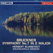 Bruckner: Symphony No. 7 In E Major - Herbert Blomstedt (2010, CD NUOVO)