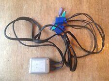 Sitecom KV-009 Mini KVM Switch Umschalter für 2 PCs PS2 VGA