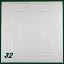 1 M2 pannelli di polistirolo PEZZO DECORATIVO PER SOFFITTO 50x50cm, N.32