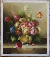 """Art oil painting on canvas still life realism flower 100% hand-painted  20""""x24"""""""