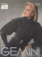 Beautiful Knit Sweater PATTERN Gemeni Shawl Collar