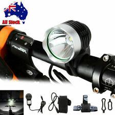 Rechargeable 10000LM 2x XM-LT6 LED Bike Bicycle Light Front Headlamp Torch AU