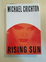 RISING SUN by Michael Crichton 1994 hcdj ~ FIRST EDITION FIRST PRINT Collectible