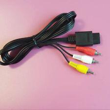 CABLE TV Nintendo Composite gamecube console Adaptateur N64 SNES RCA Av Vidéo