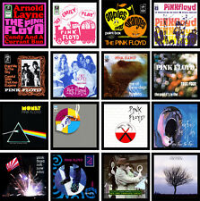 PINK FLOYD 16 pack of vinyl singles cover discography magnets lot - money apples