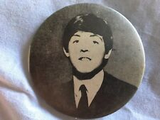 Vintage Paul McCartney The Beatles Pinback Button 2 1/4�