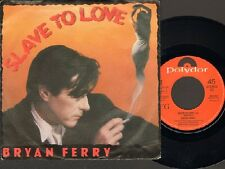 """BRYAN Brian FERRY Slave to Love  SINGLE 7"""" Valentine 1985 Related ROXY MUSIC"""