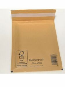 All Sizes Multipacks Gold Featherpost Mail Padded envelope like Maillite