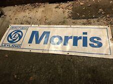 More details for morris dealership garage sign, british leyland. original