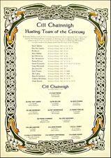 Kilkenny Hurling Team Of The Century: GAA Print