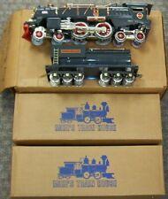 MTH Standard Gauge Tinplate NYC Gray & Brass 400E Steam Engine Bild-A-Loco