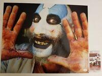 "SID HAIG Authentic Signed ""CAPTAIN SPAULDING~DEVILS REJECTS"" 16x20 Photo JSA/COA"
