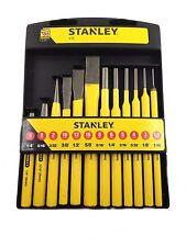Stanley Meißel Meissel Körner Durchschläger Durchschlag Set 12-teilig 4-18-299