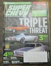 Super Chevy Magazine October 2013 Triple Threat 3 Wild Street Fighters