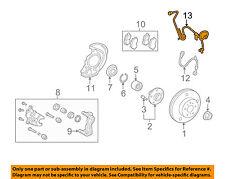 TOYOTA OEM ABS Anti-lock Brakes-Front Speed Sensor 895420E020