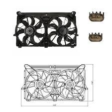Rad & Cond Fan Assembly Fits: 2005 - 2006 Cadillac Escalade 5.3L & 6.0L