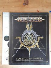Warhammer Soul Wars Forbidden Power - Book and Tokens