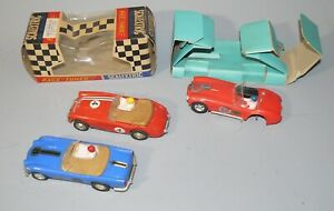 SCALEXTRIC - LOT 3 VOITURES